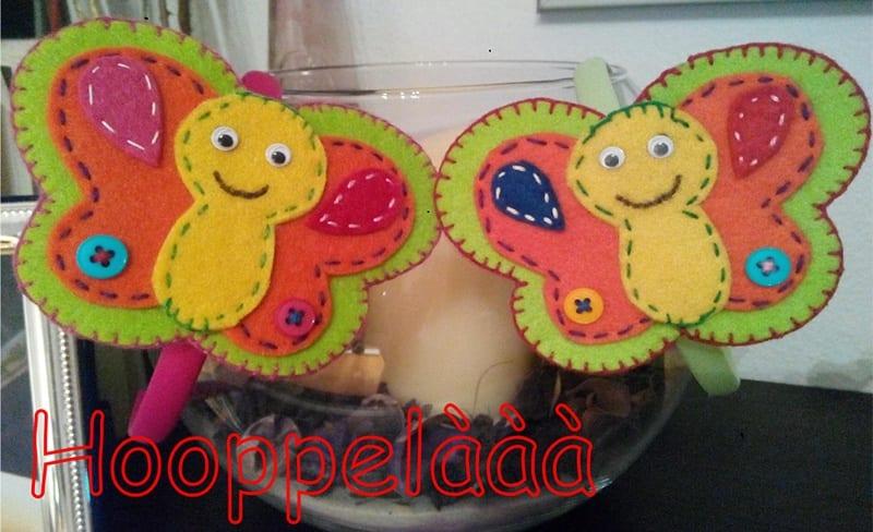 farfalle feltro