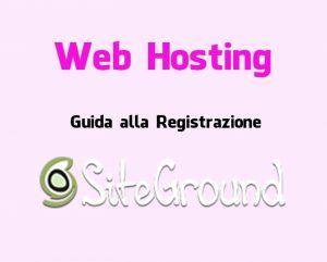 registrazione siteground