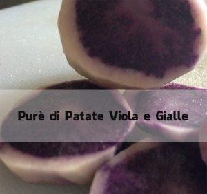purè di patate viola