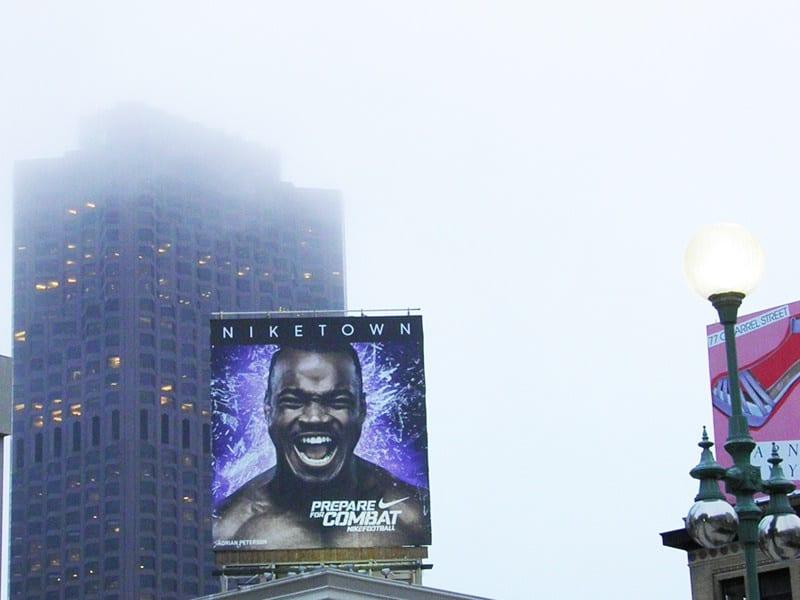 San Francisco con la nebbia