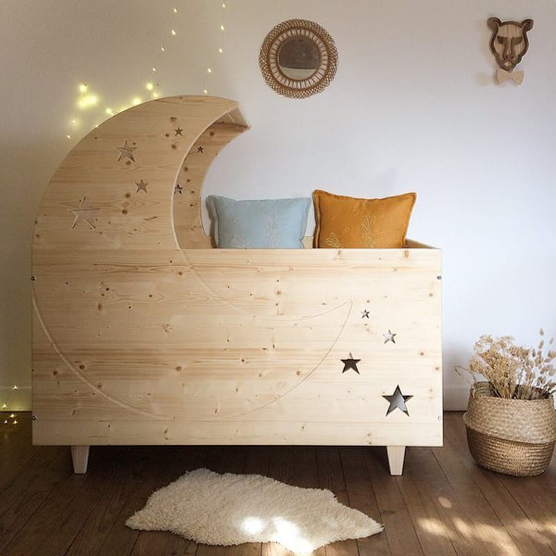 culla in legno per neonati