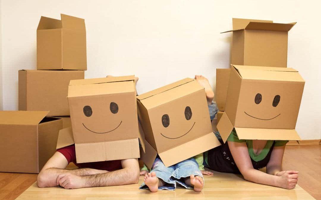 Traslocare con i bambini senza stress