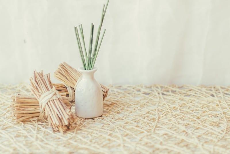 il bambu tessuto sostenibile