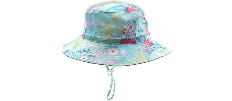 cappellino da sole per neonato