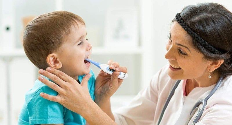 come misurare la febbre nei neonati e bambini