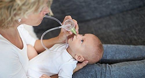 aspiratore nasale manuale senza filtri