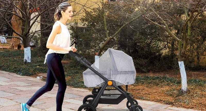 zanzariera passeggino per neonati
