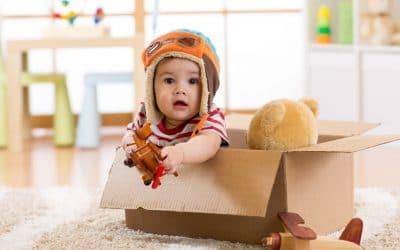 Giochini per neonato: ogni mese il gioco giusto!